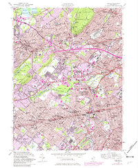 Download a high-resolution, GPS-compatible USGS topo map for Roselle, NJ (1982 edition)