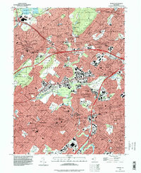 Download a high-resolution, GPS-compatible USGS topo map for Roselle, NJ (1998 edition)