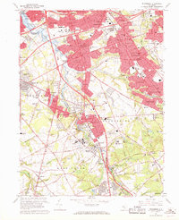 Download a high-resolution, GPS-compatible USGS topo map for Runnemede, NJ (1969 edition)