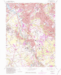 Download a high-resolution, GPS-compatible USGS topo map for Runnemede, NJ (1984 edition)