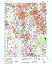 Download a high-resolution, GPS-compatible USGS topo map for Runnemede, NJ (1994 edition)