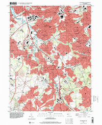 Download a high-resolution, GPS-compatible USGS topo map for Runnemede, NJ (2000 edition)