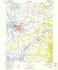 Download a high-resolution, GPS-compatible USGS topo map for Salem, NJ (1958 edition)