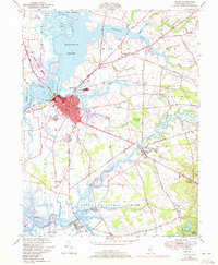 Download a high-resolution, GPS-compatible USGS topo map for Salem, NJ (1972 edition)