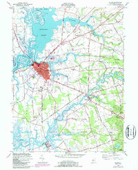 Download a high-resolution, GPS-compatible USGS topo map for Salem, NJ (1987 edition)