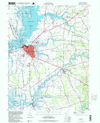 Download a high-resolution, GPS-compatible USGS topo map for Salem, NJ (1999 edition)