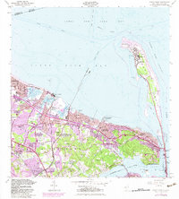 Download a high-resolution, GPS-compatible USGS topo map for Sandy Hook, NJ (1982 edition)