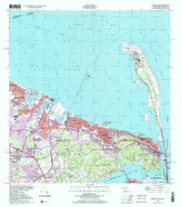 Download a high-resolution, GPS-compatible USGS topo map for Sandy Hook, NJ (2001 edition)