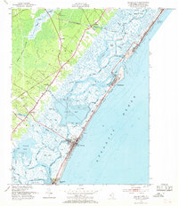 Download a high-resolution, GPS-compatible USGS topo map for Sea Isle City, NJ (1969 edition)