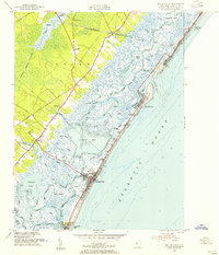 Download a high-resolution, GPS-compatible USGS topo map for Sea Isle City, NJ (1955 edition)