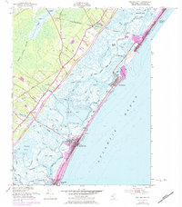 Download a high-resolution, GPS-compatible USGS topo map for Sea Isle City, NJ (1984 edition)