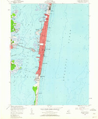 Download a high-resolution, GPS-compatible USGS topo map for Seaside Park, NJ (1962 edition)