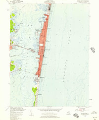Download a high-resolution, GPS-compatible USGS topo map for Seaside Park, NJ (1957 edition)