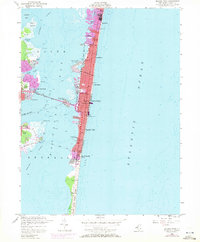 Download a high-resolution, GPS-compatible USGS topo map for Seaside Park, NJ (1972 edition)