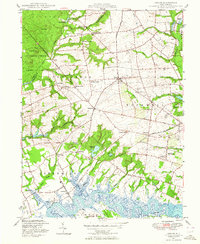 Download a high-resolution, GPS-compatible USGS topo map for Shiloh, NJ (1964 edition)