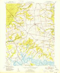 Download a high-resolution, GPS-compatible USGS topo map for Shiloh, NJ (1949 edition)