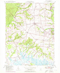 Download a high-resolution, GPS-compatible USGS topo map for Shiloh, NJ (1972 edition)