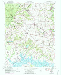 Download a high-resolution, GPS-compatible USGS topo map for Shiloh, NJ (1993 edition)