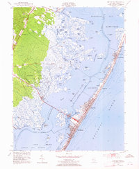 Download a high-resolution, GPS-compatible USGS topo map for Ship Bottom, NJ (1965 edition)