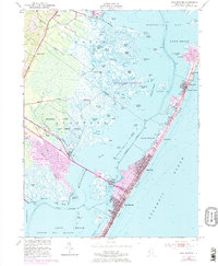 Download a high-resolution, GPS-compatible USGS topo map for Ship Bottom, NJ (1973 edition)