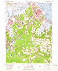 Download a high-resolution, GPS-compatible USGS topo map for South Amboy, NJ (1964 edition)