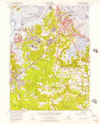 Download a high-resolution, GPS-compatible USGS topo map for South Amboy, NJ (1957 edition)