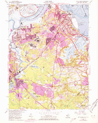Download a high-resolution, GPS-compatible USGS topo map for South Amboy, NJ (1972 edition)