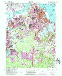 Download a high-resolution, GPS-compatible USGS topo map for South Amboy, NJ (1988 edition)
