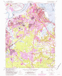 Download a high-resolution, GPS-compatible USGS topo map for South Amboy, NJ (1982 edition)