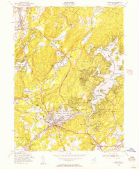 Download a high-resolution, GPS-compatible USGS topo map for Stanhope, NJ (1957 edition)
