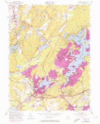 Download a high-resolution, GPS-compatible USGS topo map for Stanhope, NJ (1972 edition)