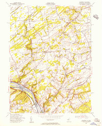 Download a high-resolution, GPS-compatible USGS topo map for Stockton, NJ (1956 edition)