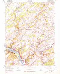 Download a high-resolution, GPS-compatible USGS topo map for Stockton, NJ (1972 edition)