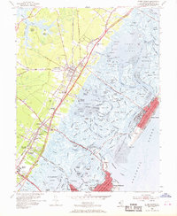 Download a high-resolution, GPS-compatible USGS topo map for Stone Harbor, NJ (1969 edition)