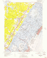 Download a high-resolution, GPS-compatible USGS topo map for Stone Harbor, NJ (1957 edition)