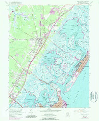 Download a high-resolution, GPS-compatible USGS topo map for Stone Harbor, NJ (1990 edition)