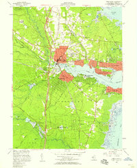 Download a high-resolution, GPS-compatible USGS topo map for Toms River, NJ (1958 edition)