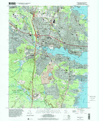 Download a high-resolution, GPS-compatible USGS topo map for Toms River, NJ (2001 edition)