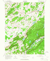 Download a high-resolution, GPS-compatible USGS topo map for Tranquility, NJ (1965 edition)
