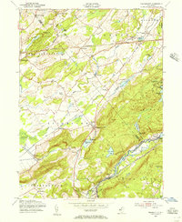 Download a high-resolution, GPS-compatible USGS topo map for Tranquility, NJ (1956 edition)