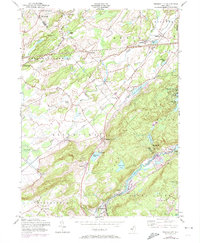 Download a high-resolution, GPS-compatible USGS topo map for Tranquility, NJ (1974 edition)