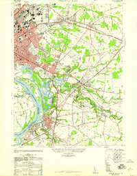 Download a high-resolution, GPS-compatible USGS topo map for Trenton East, NJ (1947 edition)