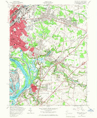 Download a high-resolution, GPS-compatible USGS topo map for Trenton East, NJ (1967 edition)