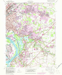 Download a high-resolution, GPS-compatible USGS topo map for Trenton East, NJ (1982 edition)