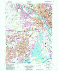Download a high-resolution, GPS-compatible USGS topo map for Trenton West, NJ (1989 edition)