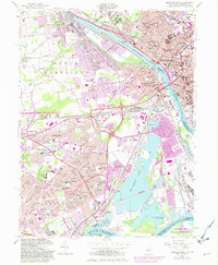 Download a high-resolution, GPS-compatible USGS topo map for Trenton West, NJ (1982 edition)
