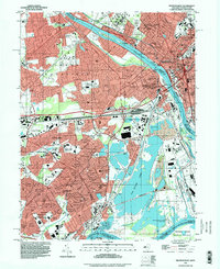 Download a high-resolution, GPS-compatible USGS topo map for Trenton West, NJ (1998 edition)