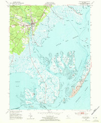 Download a high-resolution, GPS-compatible USGS topo map for Tuckerton, NJ (1972 edition)