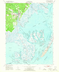 Download a high-resolution, GPS-compatible USGS topo map for Tuckerton, NJ (1965 edition)