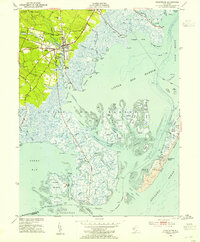 Download a high-resolution, GPS-compatible USGS topo map for Tuckerton, NJ (1954 edition)
